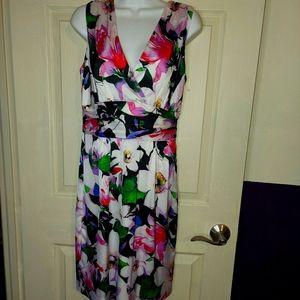 Lauren by Ralph Lauren STUNNING Silky Dress NWOT